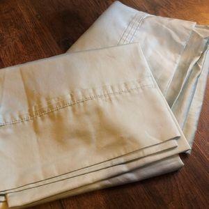 Standard Light Blue/Teal Pillowcase - Set of 2